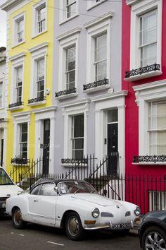 Notting Hill, London Notting Hill London, House Painting