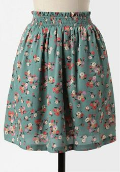 lovely old-fashioned flower print