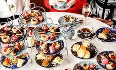 Elegant eats: It's high tea time - SALIFE Braised Chicken, Braised Beef, Green Tea Cheesecake, Coconut Panna Cotta, Jasmine Green Tea, Finger Sandwiches, Sausage Rolls, Smoked Bacon, French Vanilla