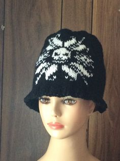 Happy Easter Rabbit Eggs Moose Unisex Winter Printed Warm Knitting Hats Skull Cap