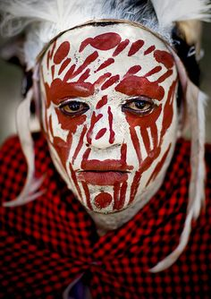 Kikuyu warrior, Kenya, photographer Eric Lafforgue