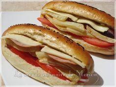 Pain Sandwichs hyper moelleux - Le Monde Culinaire De Meriem