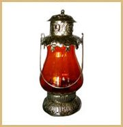 Our exquisitely designed white metal lanterns are in wide demand among our clients. These are widely known for their availability in assortment of designs and shapes.