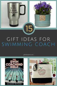 15 Awesome Gifts For Swim Coach, Swimming Coaches Swim Teacher Gifts, Swim Coach Gifts, Swim Team Gifts, Team Coaching, Soccer Coaching, A Team, Team Mom, Swim Team Party, Coach Presents
