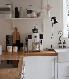 Kitchen home tour: Anja's coffee machine matches her white cabinets | live from IKEA FAMILY