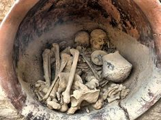 2. A Bronze Age tomb of a wealthy, powerful couple, discovered in La Almoloya in Spain. [Universitat Autonoma de Barcelona (UAB)-LiveScience]