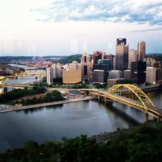 To live in Pittsburgh...even if that means only a year or two.