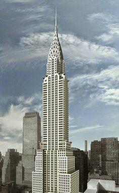The Chrysler Building in New York.