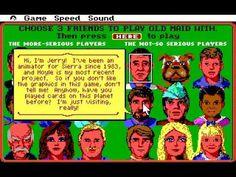Hoyle Card Games, Sierra Online, Retro Video Games, Online Games, Maid, Nostalgia, Fun, Maids, Hilarious