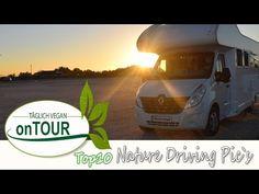 Nature Driving Pics [TOP10] Bilder vom Wohnmobil aus | Autark unterwegs | Europareise |  Slideshow Content, Vegan, Music, Youtube, European Travel, Rv, Pictures, Muziek, Musik