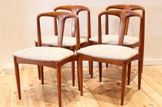 Juliane chair by Johannes Andersen danish modern midcentury