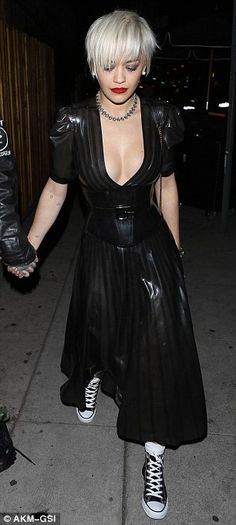 latex-always:  Party in LatexRita Ora, I love her fashionklick here for more informations about Latex-Always