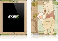 Skinit Pooh Love Note Vinyl Skin for Apple iPad 2 by Skinit. $23.99. IMPORTANT: Skinit skins, stickers, decals are NOT A CASE. Our skins are VINYL SKINS that allow you to personalize and protect your device with form-fitting skins. Our adhesive backing can be applied and removed with no residue, no mess and no fuss. Skinit skins are engineered specific to each device to take into account buttons, indicator lights, speakers, unique curvature and will not interfere w...