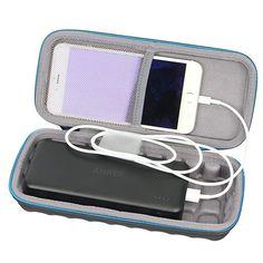 SANVSEN Hard Case for Anker PowerCore Elite 20000 Portable Charger 20000mah Power Bank Fast Recharging Battery by