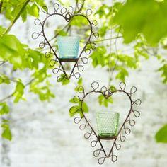 Hanging Heart Votives