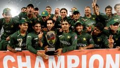 Pakistan Cricket team wins the Asia Cup 2012!