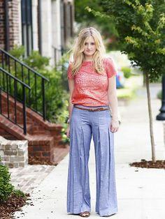 Whitney Misses Trousers & Skirt - Violette Field Threads   - 1