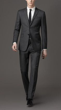 burberry prince of wales check suit  http://www.menssuitstips.com