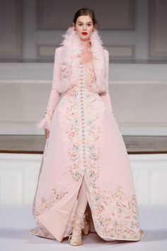 A Pink Dream of a Dress // Oscar de la Renta Pre-Fall 2011