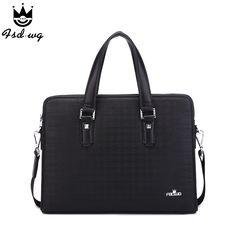 new Men stereotypes Briefcase Business Shoulder Leather Messenger Bags mens crossbody bag bolsas handbag mens travel bags
