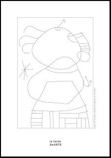 Pequeños Pinceles: Miró para pintar Drawing For Kids, Art For Kids, Spanish Painters, Colouring Pages, Art History, Art Projects, Illustration Art, Arts And Crafts, Symbols