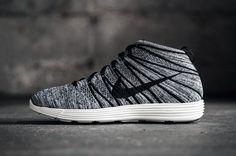 Nike Lunar Flyknit Chukka Black/White-Sail • Highsnobiety
