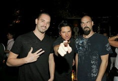 Ghost Adventures!!  This picture perfectly symbolizes their personalities... Lol