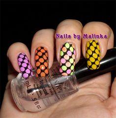 Nails by Malinka: Born Pretty plate L006