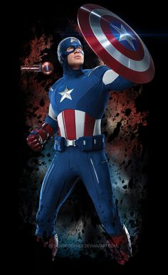 Captain America 04 by DesignsByTopher on DeviantArt