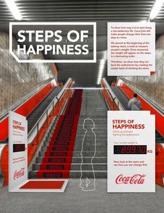 Coca-Cola's Interactive Subway #Ad Urges Commuters To Take the Stairs. Funny, huh? Considering soft drinks are extremely bad for a healthy lifestyle?  What do you think?