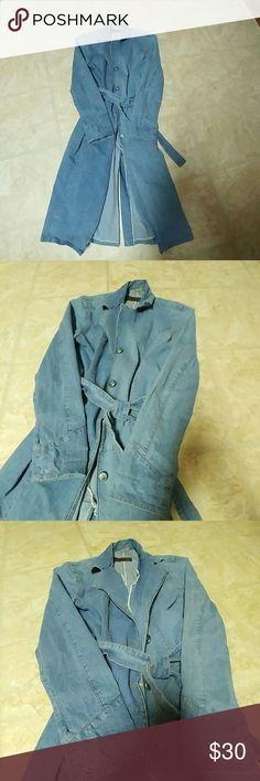 Sale today...Denim dress/Jacket Worn in good condition no damage bellino  Jackets & Coats Jean Jackets