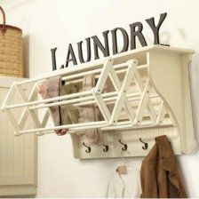Good Drying Rack Ideas For Laundry Room #11 Accordion Drying Rack