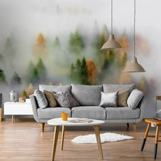 Be absolutely drawn into this gorgeous Autumn Dream wall mural wallpaper. It's custom-made to fit your wall.  Forest wallpaper and gorgeous tree wallpaper murals bring the natural beauty of the outdoors in. Ideal for application in any room, our forest murals are popular with homes and businesses all over the world! Get inspired today and click to ve wallpaper mural. Click to see more from Wallsauce! #wallmural #wallpaper #treewallpaper #bedroominspo #homedecor #forest #wallsauce Tree Wallpaper Mural, Forest Wallpaper, Room Wallpaper, Forest Mural, What's Your Style, Dream Wall, Design Your Home, Bedroom Inspo, Designer Wallpaper