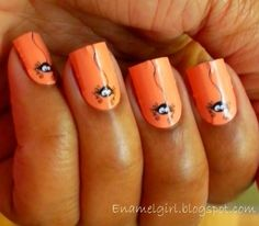 DIY Halloween Nails : Halloween Mani  Fabulous Nail Stickers