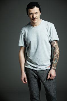 #Derriere fall/winter 2014 #dderriere #denim #jeans #Tshirt #Grey #LogoRed #Ricamo #Pantalone #Pant #Chino #WoolArt #EarGrey