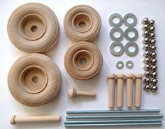 Construction-grade Backhoe Loader Woodworking Plan, Toys & Kids Furniture
