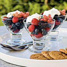 Healthy Summer Recipes | Berries with Mascarpone | CoastalLiving.com