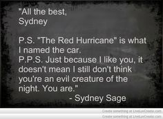 Vampire Academy Quotes | Sydney Sage