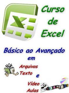 Curso de Excel Básico ao Avançado - Video-aulas e Textos #mpsnet  #conhecimento  O curso tem por objetivo ensinar a utilização do Excel de forma correta e inteligente, independente da versão. Veja em detalhes neste site http://www.mpsnet.net/loja/index.asp?loja=1&link=VerProduto&Produto=404