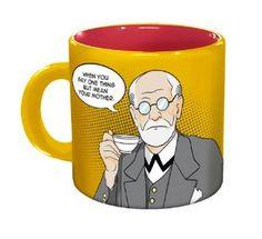 Freudian sips mug.