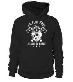 Je Peux Pas Je suis de Garde T-Shirt, Hoodie ,Sweat À Capuche Unisexe, Sweater, Col Rond Femme, Manches Longues, Premium, Enfant (17)   Teezily   Buy, Create & Sell T-shirts to turn your ideas into reality Hoodies, Sweatshirts, T Shirt, Sweaters, Fashion, Kid, Woman, Unisex, Hoodie Sweatshirts
