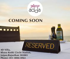 Want to have your finger on the pulse of what's new in the #Jaipur culinary scene? Do you enjoy being one step ahead of friends and colleagues on where's going to be the next must-try new place to eat? Stay tuned, #JaipurAdda is coming soon to give all new gastronomic experiences. #Restaurant #FoodVentures #NirwanaHometelJaipur #JaipurHotels #Culinaryexperience #FNB #NewRestaurant #RestaurantsinJaipur #jaipurRestaurants