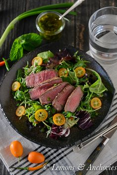 Steak Salad with Min