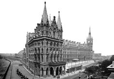 Designed by ancestor of Watts, Sir George Gilbert Scott, and described by many as the most romantic building in London, the former Midland Grand Hotel has now re-opened as the St Pancras Renaissance London Hotel. Next London, Old London, Camden London, London Hotels, London Tours, Covent Garden, Buckingham Palace, Renaissance Hotel, Camden Town