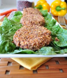 These veggie burgers are a great alternative to store-bought burgers. They're tender and flavorful, just like a main dish recipe should be.