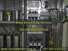 #Relay #Retrofitting_Services by System Protection We have dedicated the team of experts for Retrofitting and Revamping Activities of all types of Protection System, Control & Relay Panels, #Switchgear Panels, #Transformers, #Motors and Sub-stations. • Retrofitting of all types of #Electromechanical to Numerical Relays. • Modification of circuits as per the retrofitted device scheme. • Configuring the relay accordance to the scheme. • Technical team's provider for Siemens, Alstom, ABB etc…