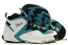 the latest db4db 214b9 Nike Air GO LWP White Black Green - Penny Hardaway Shoes 2013 Nike Air Max  Mens
