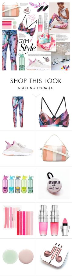 """""""Alexa"""" by kumi-chan ❤ liked on Polyvore featuring Balmain, The Upside, NIKE, 10 Crosby Derek Lam, Sephora Collection, Lancôme, Nails Inc. and PhunkeeTree"""