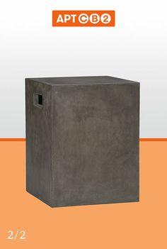 APTCB2   Cement Grey Side Table