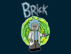 Brick Sanchez T-Shirt - Rick and Morty T-Shirt is $11 today at TeeFury!